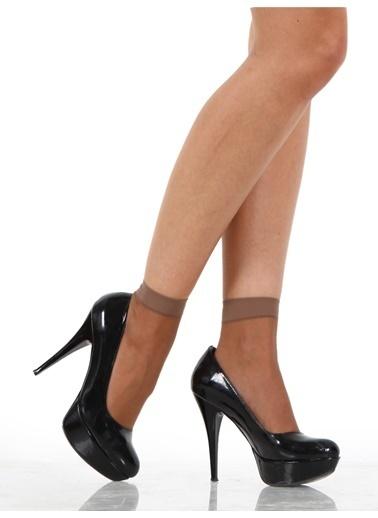 Miorre 4 Çift Likralı Soket Çorap Bronz